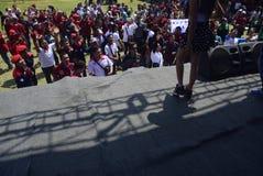 Meidag in de Stad van Semarang Stock Fotografie