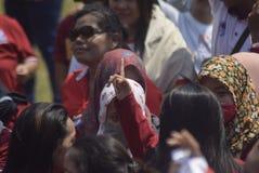 Meidag in de Stad van Semarang Royalty-vrije Stock Fotografie