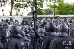 Meidag 2014 in Hamburg Royalty-vrije Stock Afbeelding