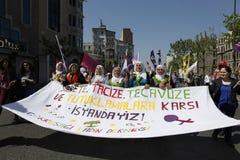 Meidag in Istanboel Royalty-vrije Stock Afbeelding