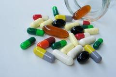 Meidicine pills Royalty Free Stock Image