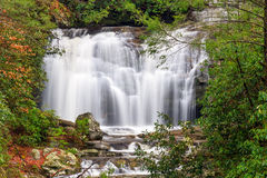 Meigs Falls in the Smoky Mountains Royalty Free Stock Photography