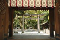 Meiji Jingu в токио стоковое фото rf