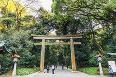 Meiji Jingu Gaien lizenzfreies stockbild