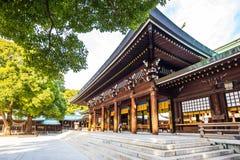 Meiji Jingu Shine in Shibuya, Tokyo Japan lizenzfreies stockbild