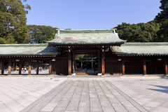 Meiji Jingu Shrine. Fotografia Stock