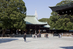 Meiji Jingu Shrine Stock Photo