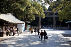 Meiji Jingu Shrine. Royalty Free Stock Photography