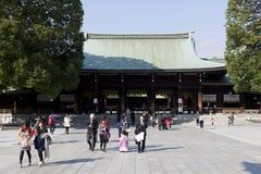 Meiji Jingu Shrine. Royalty Free Stock Image