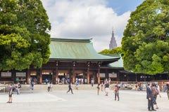 Meiji Jingu Shrine in Shibuya, Tokyo Stock Photography