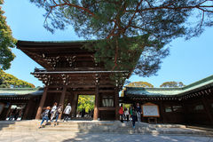 Meiji Jingu Shrine Stock Image