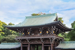 Meiji-jingu Shrine in Tokyo. Japan Royalty Free Stock Images