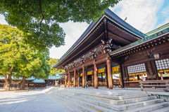 Meiji-jingu Shrine in Tokyo, Japan Royalty Free Stock Image