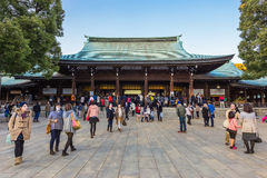 Meiji-jingu Shrine in Tokyo Japan Royalty Free Stock Photography