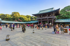 Meiji-jingu Shrine in Tokyo Japan Stock Images