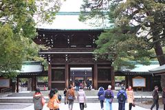 Meiji Jingu Shrine Royalty Free Stock Photo