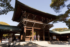 Meiji-Jingu in Tokyo, Japan Stock Foto