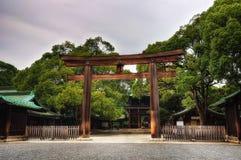 Meiji Jingu Tokyo. Taken in 2011 Royalty Free Stock Photo