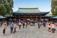 Meiji-Jinguheiligdom in Tokyo Japan Royalty-vrije Stock Fotografie