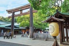 Meiji-Jinguheiligdom in Tokyo Japan Stock Foto's