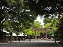 Meiji Schrein Lizenzfreies Stockbild