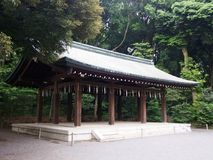 Meiji Shrine à Tokyo Japon image stock