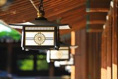 Meiji shrine. In temple, Tokyo, Japan stock image