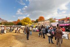 Meiji Shrine Autumn Fair in Tokyo Royalty Free Stock Image