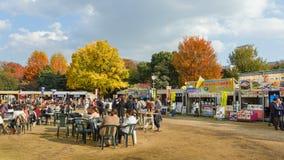 Meiji Shrine Autumn Fair in Tokyo Royalty Free Stock Photos