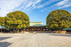 Meiji Shrine no Tóquio, Japão fotografia de stock