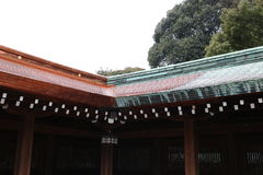 Meiji Shrine-01 Royalty Free Stock Photo