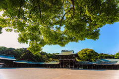 Meiji Shrine,Shibuya,Tokyo,Japan. Meiji Shrine is Located just beside the JR Yamanote Line's busy Harajuku Station Stock Image