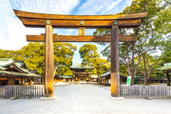 Meiji Shrine a Tokyo, Giappone fotografie stock libere da diritti