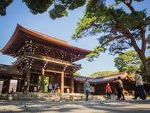Meiji Shrine , Tokyo, Japan - OCTOBER 27 2017 : located in Shib. Uya, Tokyo royalty free stock images