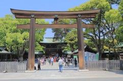 Meiji shrine Tokyo Japan Stock Photo