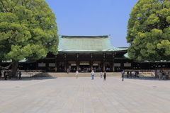 Meiji shrine Tokyo Japan Stock Photography