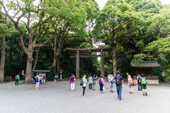 Meiji shrine Stock Photos