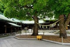 Meiji Shrine Yoyogi Park Tokyo Japan Azië royalty-vrije stock fotografie