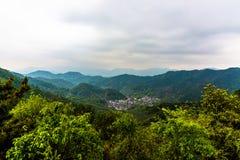 Meijiawu tea village Royalty Free Stock Photo