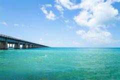 7 Meilen-Brücke Florida Lizenzfreie Stockfotos