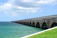 7-Meilen-Brücke Florida-Schlüssel Lizenzfreie Stockfotos