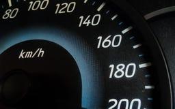 Meilen des Autos Lizenzfreies Stockbild