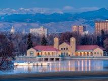 Meilen-hohe Stadt von Denver Lizenzfreies Stockbild