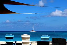 7 Meilen-Strand Grand Cayman Stockfotos