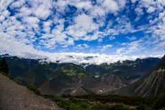 Meili多雪的山 免版税库存图片