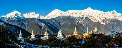 Free Meili(Meri) Snow Mountains Royalty Free Stock Photo - 36151685