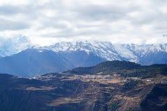 Meili Mingyong Śnieżni Halni lodowowie Zdjęcia Stock