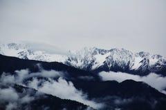 Meili śniegu góra Fotografia Stock