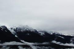 Meili śniegu góra Zdjęcia Stock