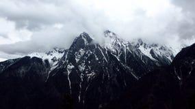 Meili śniegu góra Zdjęcie Royalty Free